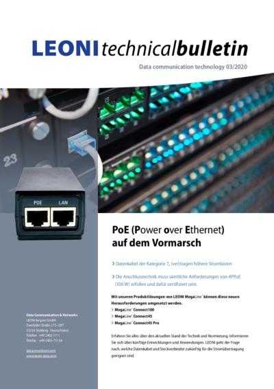 PoE (Power over Ethernet) auf dem Vormarsch